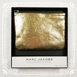 Neiman Marcus for Target Marc Jacobs Gold Clutch